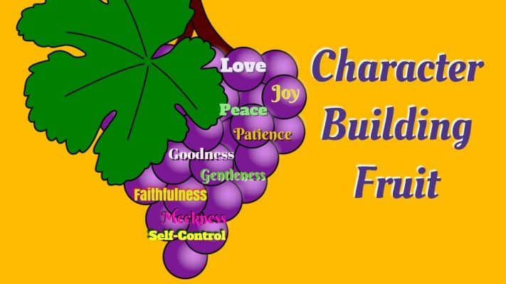 character building friut
